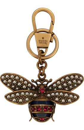 Брелок для ключей с декоративной отделкой | Фото №1
