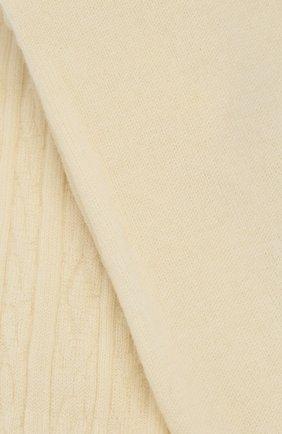 Детские колготы фактурной вязки FALKE бежевого цвета, арт. 13520 | Фото 2