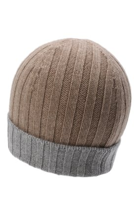 Мужская кашемировая шапка GRAN SASSO бежевого цвета, арт. 13165/15562 | Фото 2