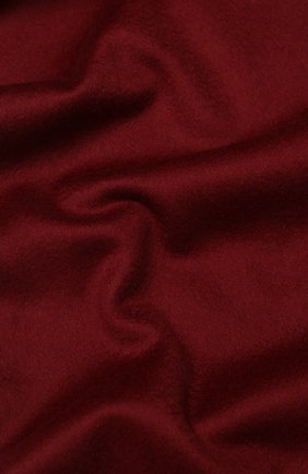 Мужской шерстяной шарф с бахромой LORO PIANA бордового цвета, арт. FAA2448/VVIC | Фото 2