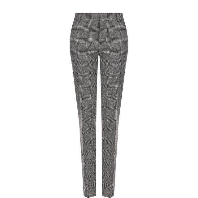 Шерстяные брюки со стрелками Saint Laurent