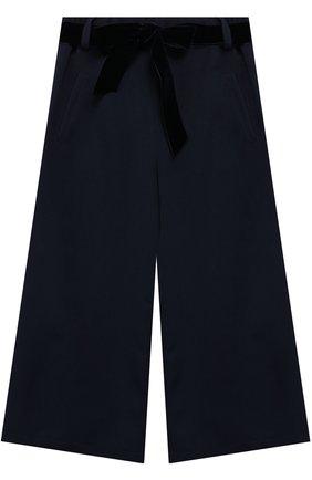 Расклешенные брюки с поясом | Фото №1