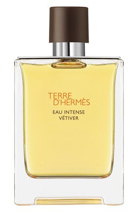 Мужской парфюмерная вода terre d'hermès eau intense vétiver HERMÈS бесцветного цвета, арт. 40946H | Фото 1
