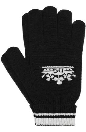 Кашемировые вязаные перчатки | Фото №1
