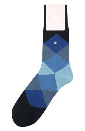 Мужские хлопковые носки BURLINGTON синего цвета, арт. 20942 | Фото 1