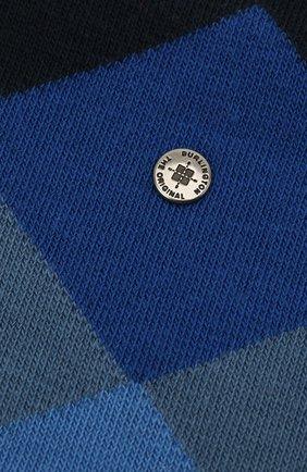 Мужские хлопковые носки BURLINGTON синего цвета, арт. 20942 | Фото 2