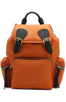 Рюкзак Rucksack medium Burberry оранжевый   Фото №1