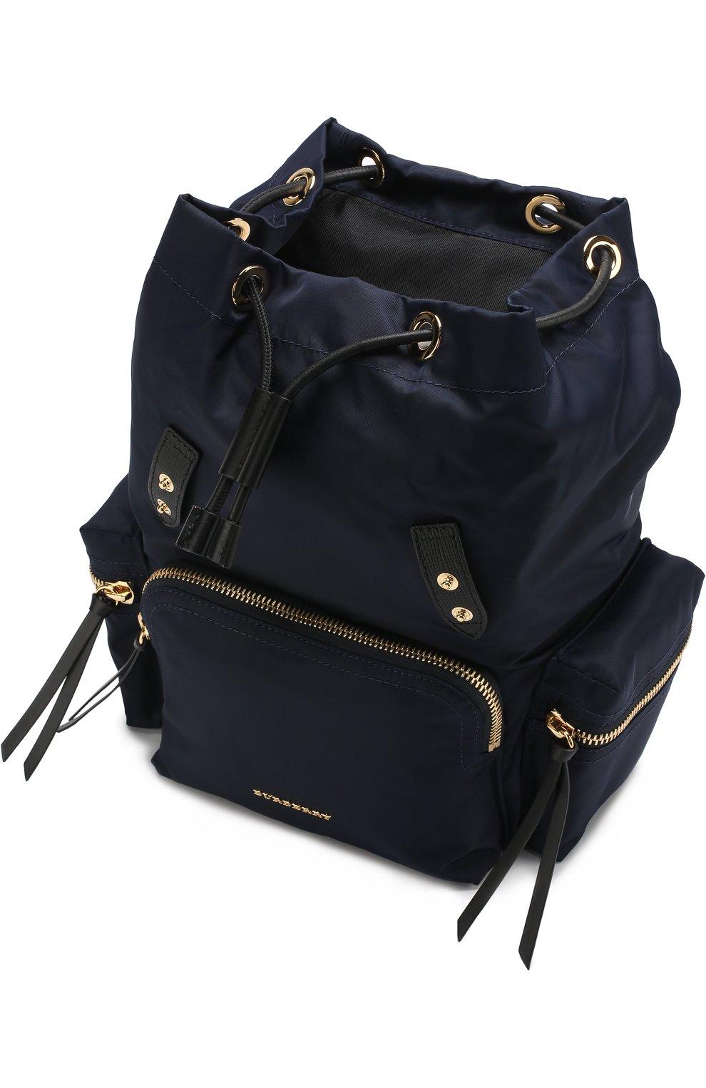 Рюкзак с отделкой из кожи   Фото №4