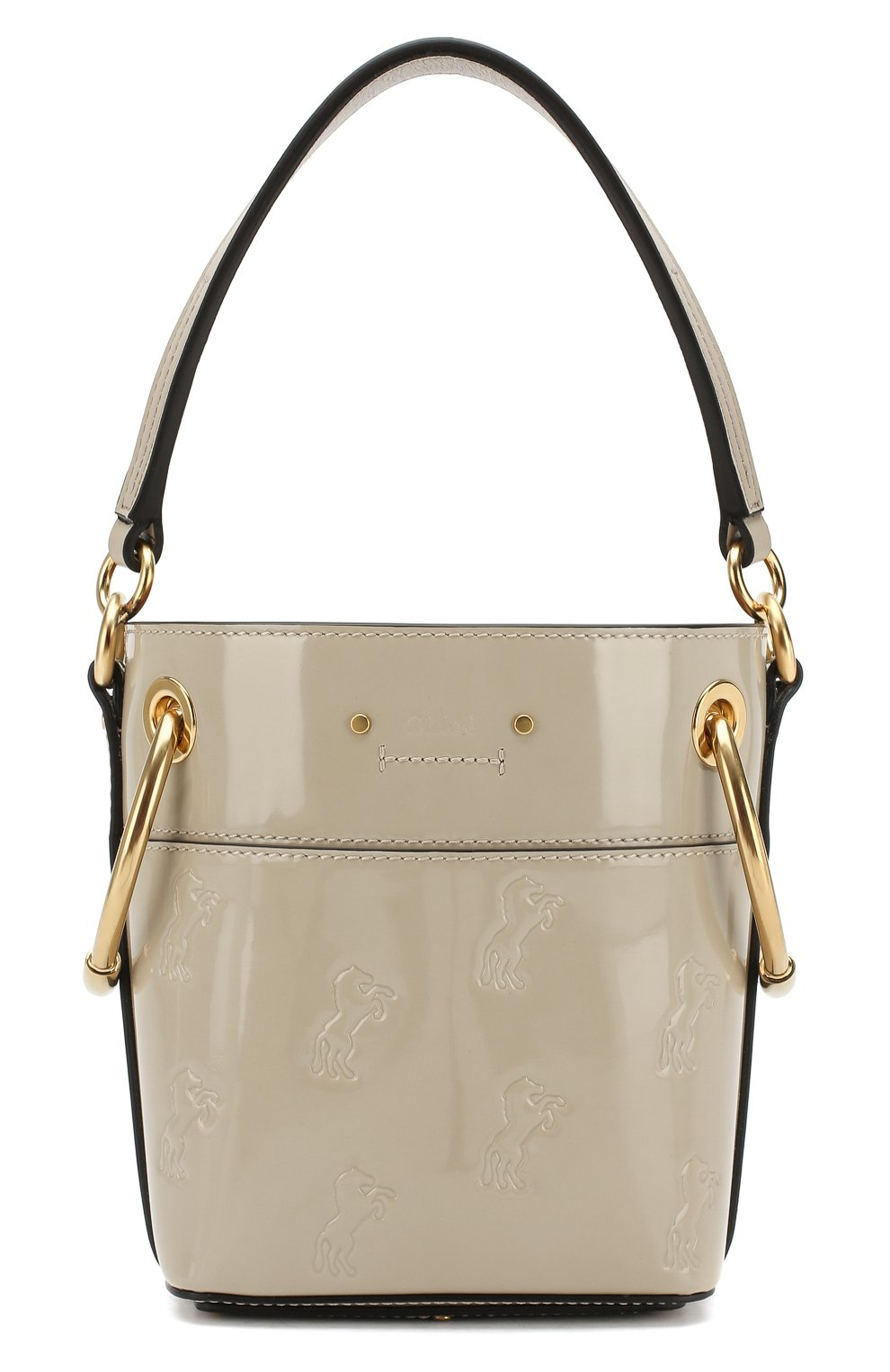 a2b8b90940e3 Женская сумка roy bucket mini CHLOÉ серая цвета — купить за 97550 ...