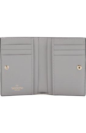 Кожаный кошелек Valentino Garavani Rockstud   Фото №3