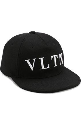 Шерстяная кепка VLTN | Фото №1