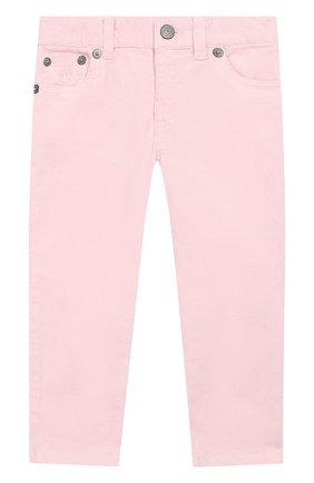 Вельветовые джинсы прямого кроя | Фото №1