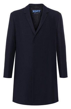 Однобортное пальто из шерсти | Фото №1