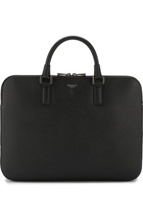 Кожаная сумка для ноутбука Evoluzione с плечевым ремнем | Фото №1