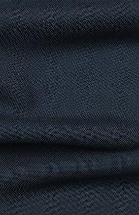 Мужской шерстяной шарф с необработанным краем LORO PIANA темно-серого цвета, арт. FAI1134 | Фото 2