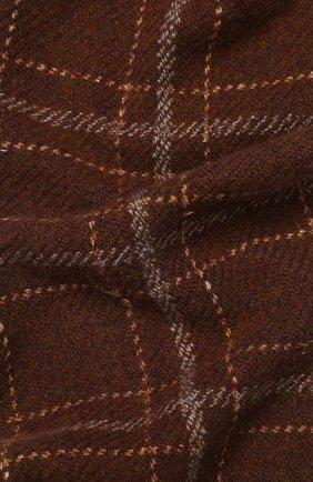 Мужской шарф из смеси кашемира и шелка LORO PIANA коричневого цвета, арт. FAI2437 | Фото 2
