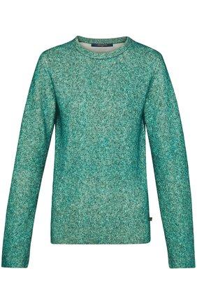 Пуловер с круглым вырезом | Фото №1