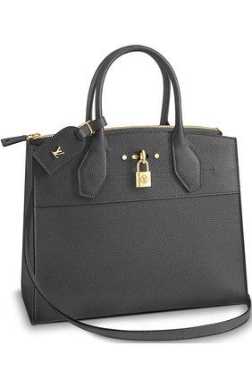 Сумка City Steamer MM Louis Vuitton темно-серая цвета | Фото №1