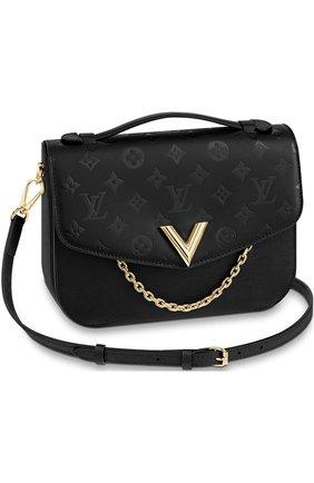 Сумка Very Messenger  Louis Vuitton черная цвета | Фото №1