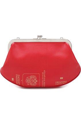Сумка Granny с принтом Passport | Фото №1
