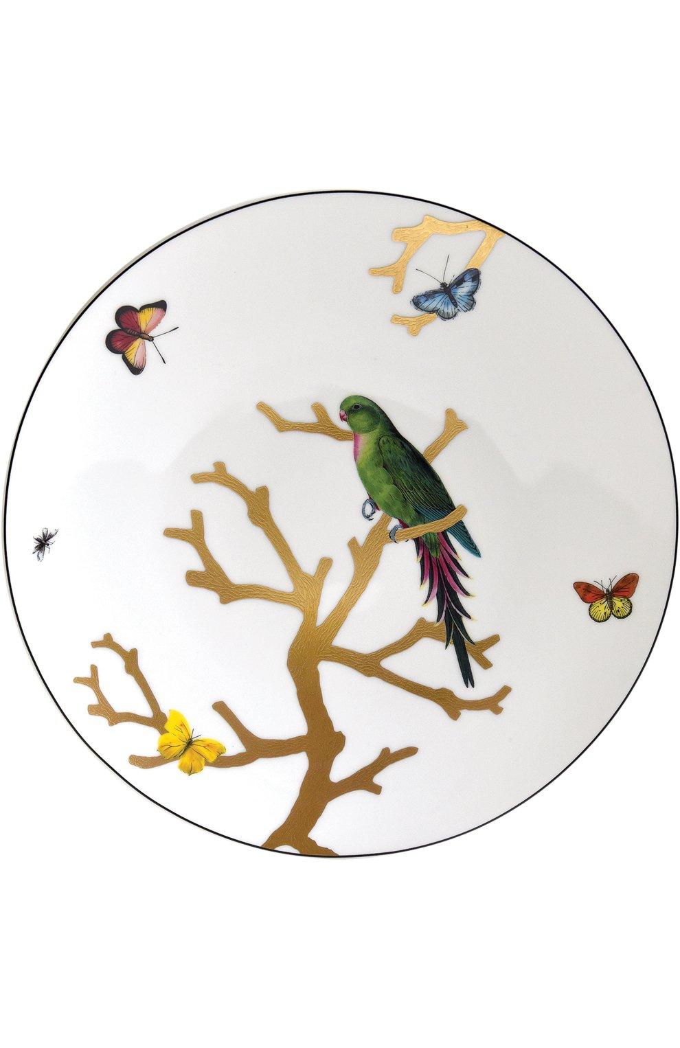 Мужского обеденная тарелка aux oiseax BERNARDAUD разноцветного цвета, арт. 1770/21259 | Фото 1