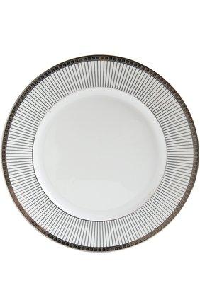 Мужского обеденная тарелка athens studio BERNARDAUD белого цвета, арт. 1771/13 | Фото 1