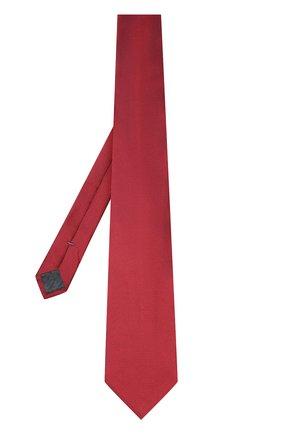 Мужской шелковый галстук ERMENEGILDO ZEGNA красного цвета, арт. Z4D01/1XW | Фото 2