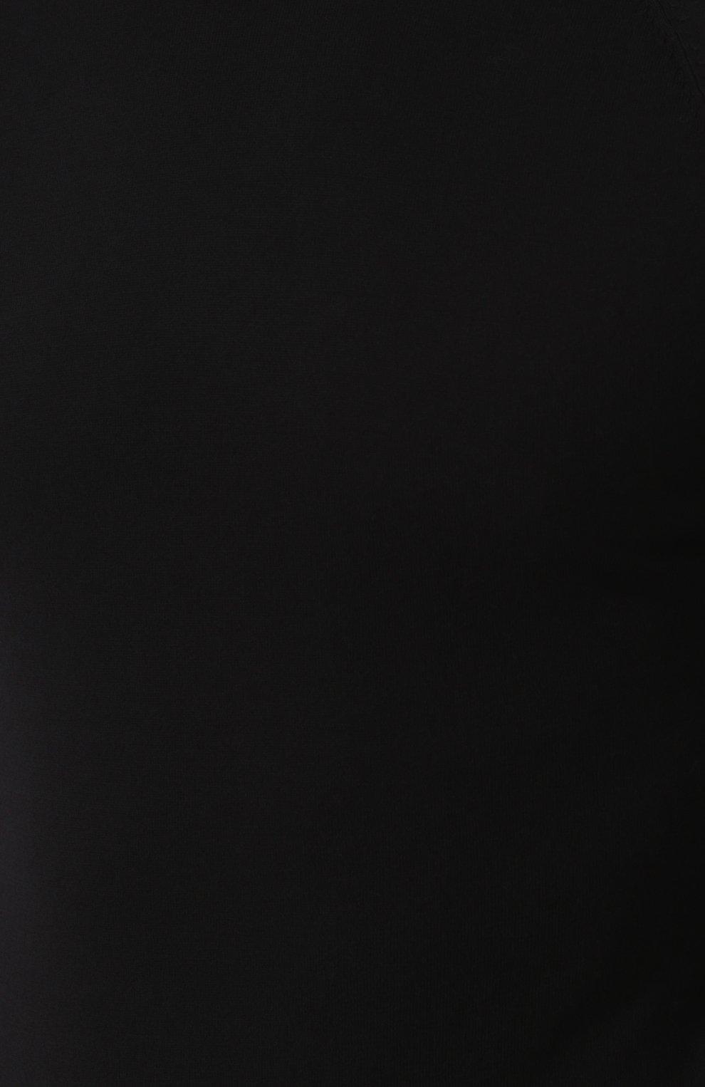 Джемпер из смеси хлопка и кашемира тонкой вязки | Фото №5