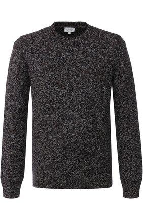 Шерстяной свитер с круглым вырезом | Фото №1