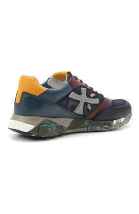 Мужские комбинированные кроссовки zac-zac на шнуровке PREMIATA разноцветного цвета, арт. ZAC-ZAC/VAR3545 | Фото 4