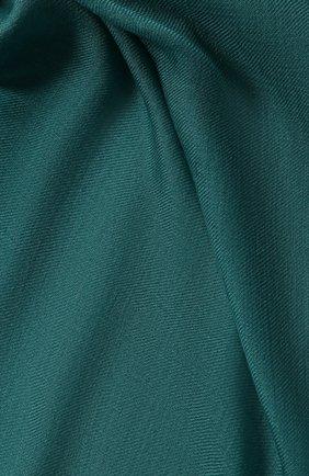 Женский платок quadrata rainbow из кашемира и шелка LORO PIANA зеленого цвета, арт. FAE7233 | Фото 2