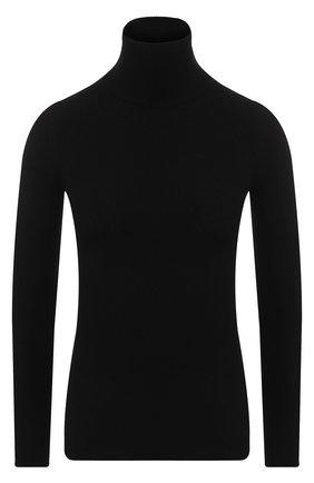 Однотонная кашемировая водолазка Christopher Kane черная | Фото №1