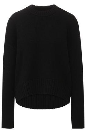 Пуловер из смеси шерсти и кашемира Proenza Schouler черный | Фото №1