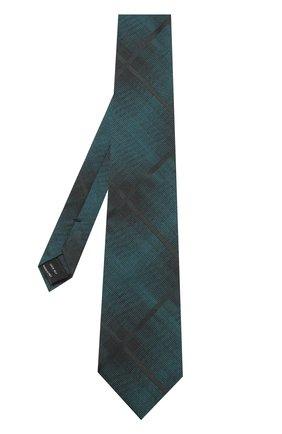 Мужской шелковый галстук TOM FORD зеленого цвета, арт. 4TF59/XTM | Фото 2