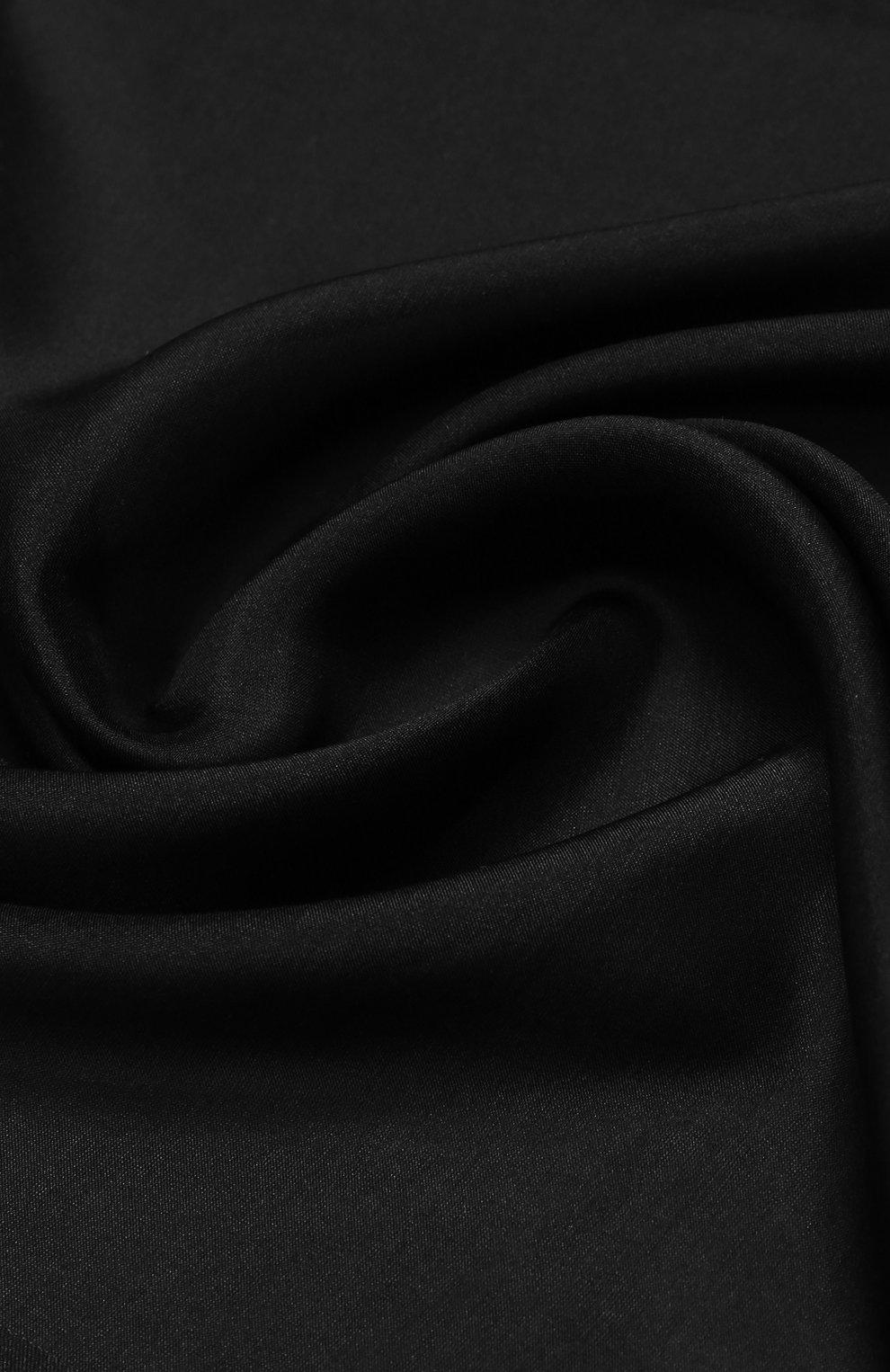Мужской шелковый платок TOM FORD черного цвета, арт. 4TF86/TF312   Фото 2