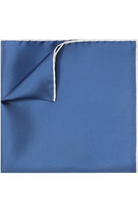 Мужской шелковый платок TOM FORD синего цвета, арт. 4TF87/TF312 | Фото 1
