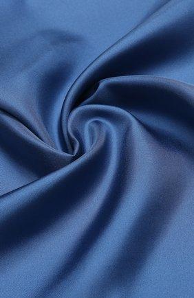 Мужской шелковый платок TOM FORD синего цвета, арт. 4TF87/TF312 | Фото 2