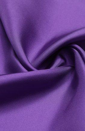 Мужской шелковый платок TOM FORD фиолетового цвета, арт. 4TF87/TF312   Фото 2