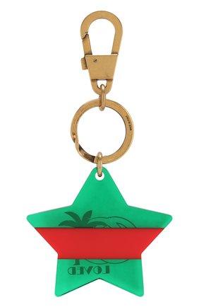Мужской брелок для ключей с подвеской GUCCI зеленого цвета, арт. 523764/JCFRT | Фото 2