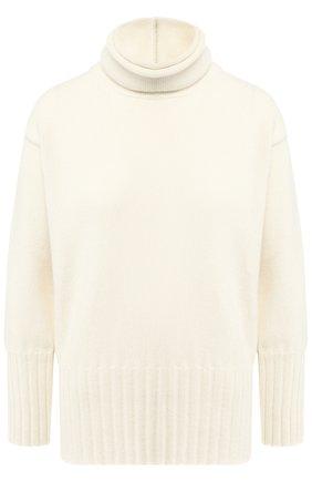 Кашемировый пуловер с высоким воротником Colombo белый | Фото №1