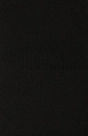 Мужские хлопковые подследники family FALKE черного цвета, арт. 14666 | Фото 2
