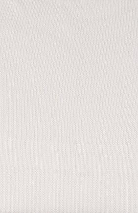 Мужские хлопковые подследники family FALKE белого цвета, арт. 14666 | Фото 2