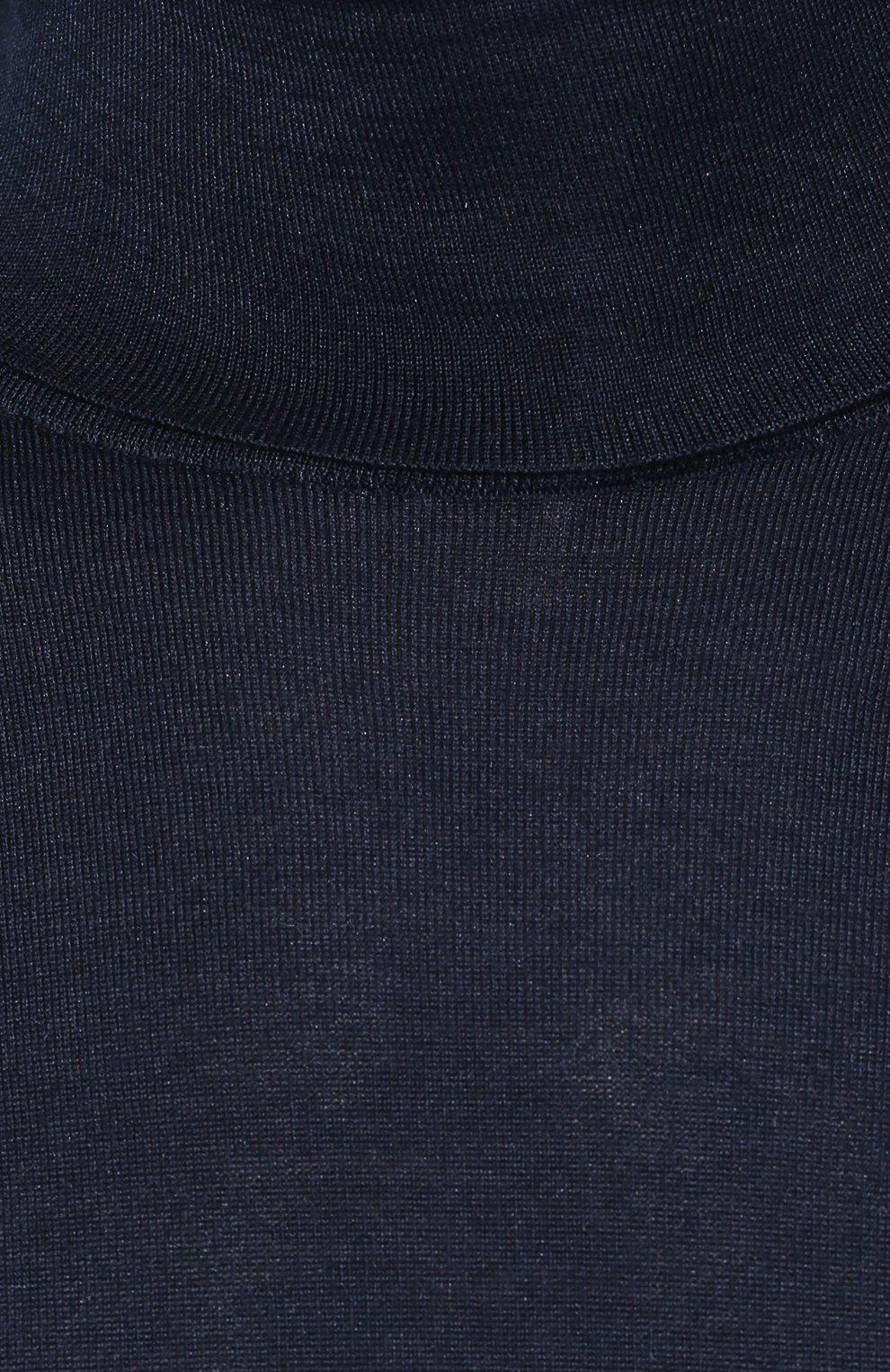 Водолазка из смеси кашемира и шелка   Фото №5