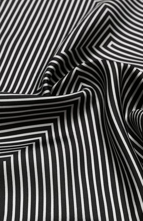 Мужской шелковый платок TOM FORD черно-белого цвета, арт. 4TF93/TF312 | Фото 2