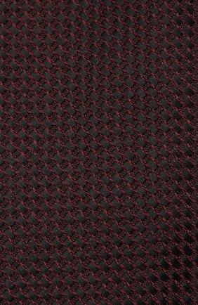 Мужской галстук из смеси шелка и хлопка TOM FORD фиолетового цвета, арт. 4TF24/XTM   Фото 3