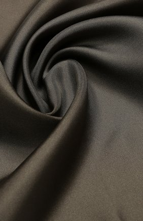 Мужской шелковый платок TOM FORD темно-бежевого цвета, арт. 4TF88/TF312 | Фото 2