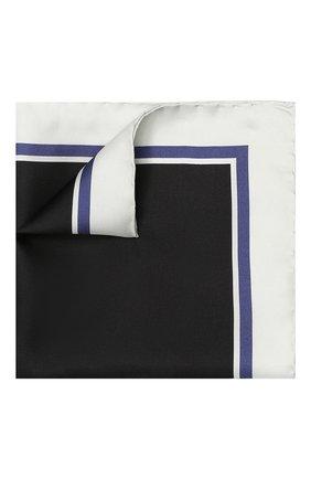 Мужской шелковый платок TOM FORD светло-серого цвета, арт. 4TF90/TF312 | Фото 1