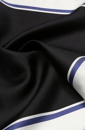 Мужской шелковый платок TOM FORD светло-серого цвета, арт. 4TF90/TF312 | Фото 2