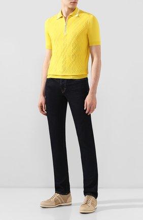 Мужские джинсы TOM FORD темно-синего цвета, арт. BRJ18/TFD002 | Фото 2