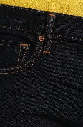 Мужские джинсы TOM FORD темно-синего цвета, арт. BRJ18/TFD002 | Фото 5